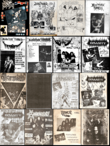 Chilean Fanzines From The 80's - 90's