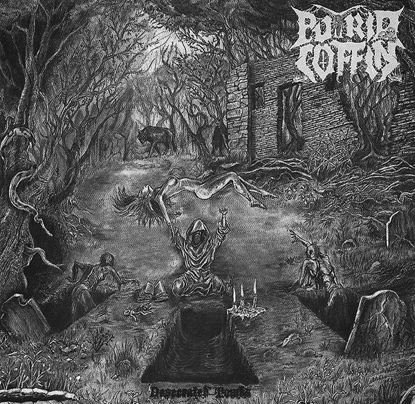 Putrid Coffin - Desecrated Tombs (2019)