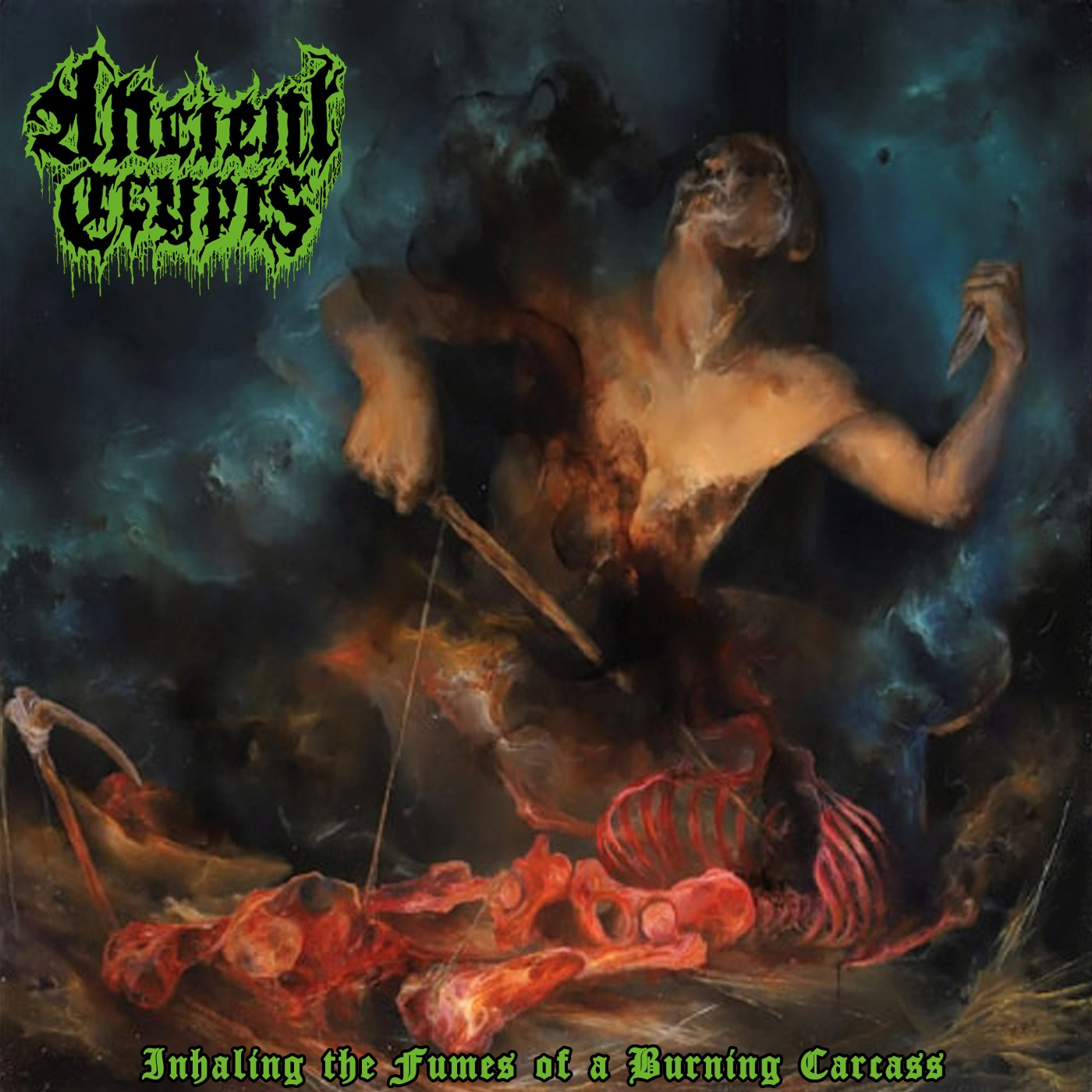 Ancient Crypts - Inhaling the Fumes of a Burning Carcass (2020)