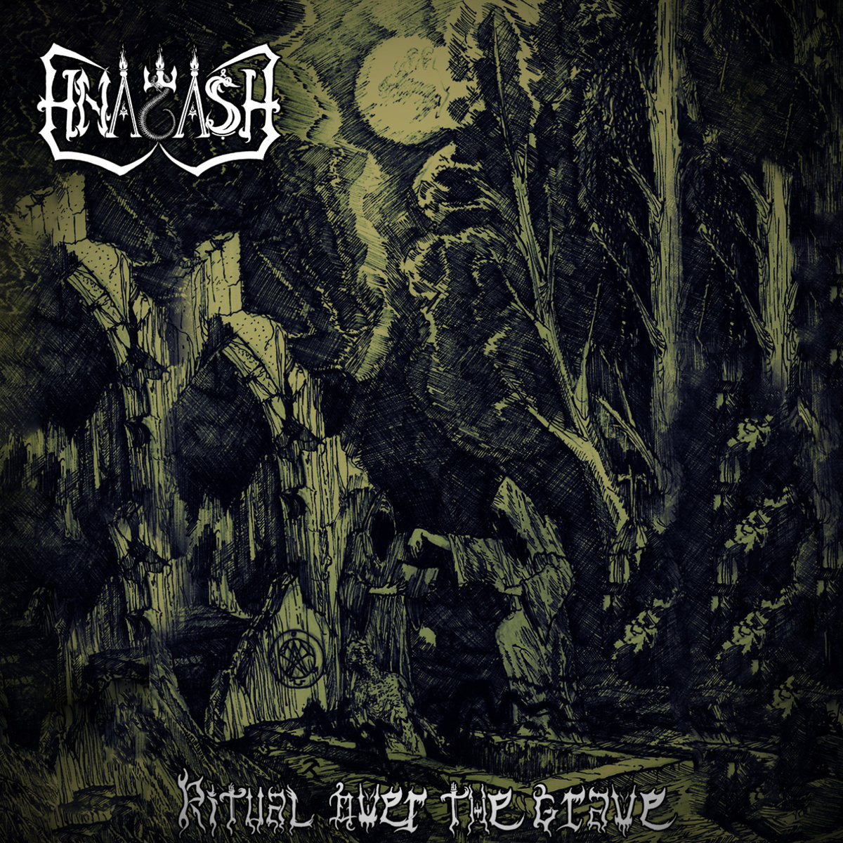 Hnagash - Ritual Over the Grave (2020)