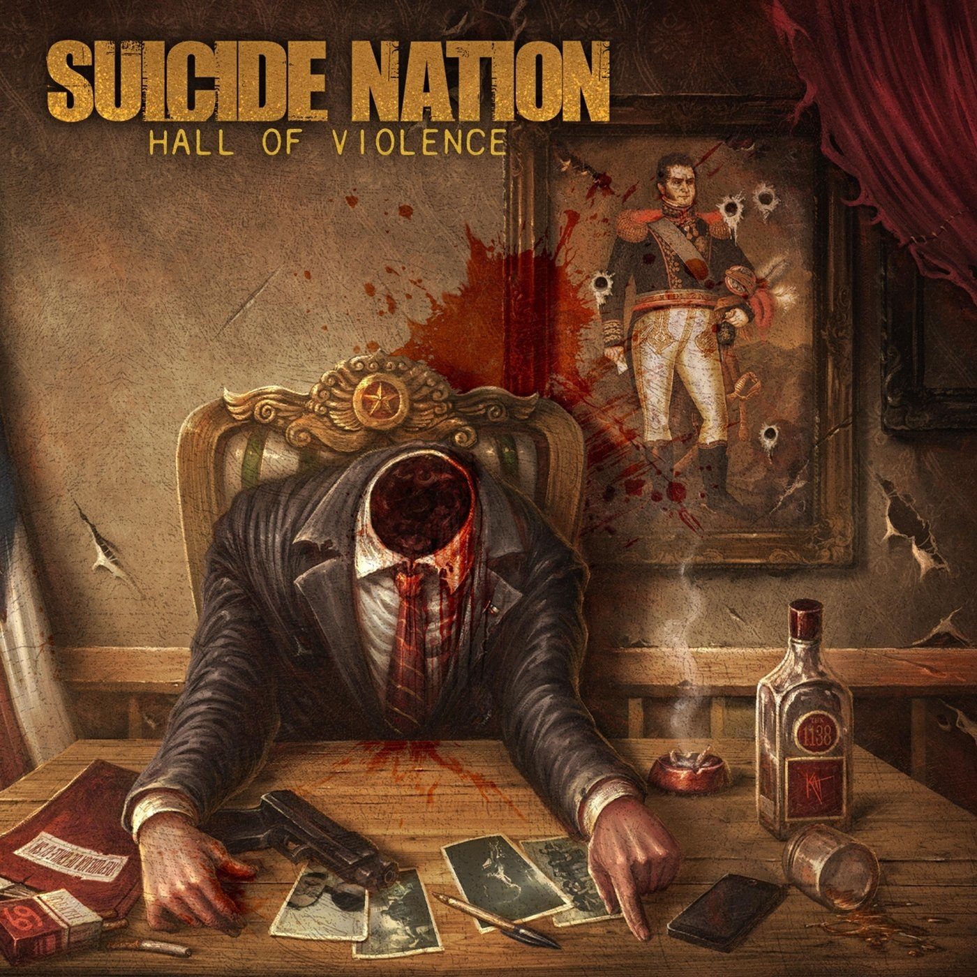 Suicide Nation - Hall of Violence (2020)