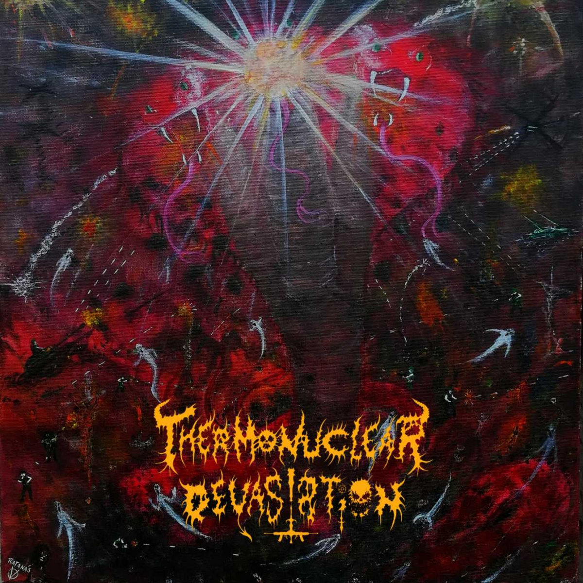 Thermonuclear Devastation - Worshipper of Darkness (2020)