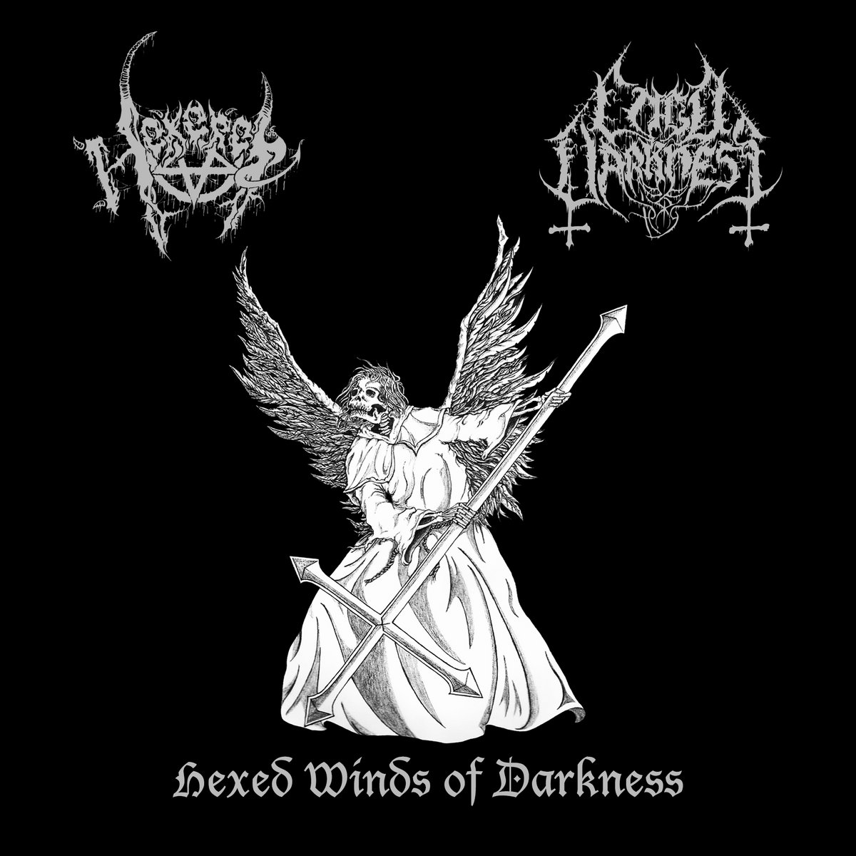 Hexerei / Cold Darkness - Hexed Winds of Darkness (2020) Split